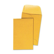 Kraft Coin Envelope, #1, Light Brown, 500/Box