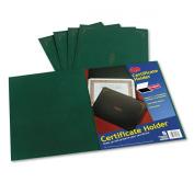 Oxford Certificate Holders, Letter Size, Hunter Green, 5 per Pack