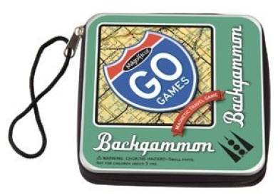 Magnetic Poetry Go Games Backgammon
