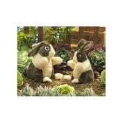 Dutch Rabbit Hand Puppet by Folkmanis - 2568