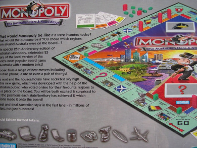 Monopoly - The Here & Now Australian Edition