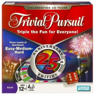 how to play trivial pursuit 25th anniversary edition