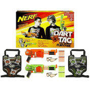 Nerf Dart Tag Furyfire 2 Player Set - Green/Orange