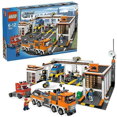 lego garage 7642 instructions
