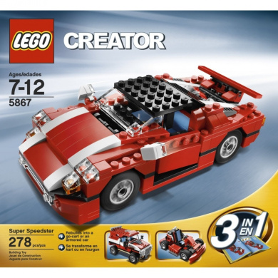 LEGO Creator Red Car (5867)