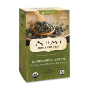 Organic Teas and Teasans, 1.27oz, Gunpowder Green, 18/Box