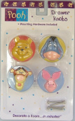 Pooh Acrylic Drawer Knobs