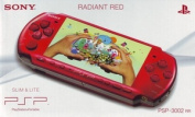 PSP 3000 Slim & Lite Console - Red