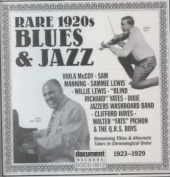 Rare 1920's Blues and Jazz
