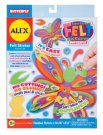 Alex Layer & Stick Felt Pictures - Butterfly