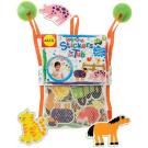 Cuckoo Alex Rub a Dub Farm Stickers for the Tub bath toy