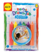 Alex Rub-a-Dub Draw In The Tub Crayons