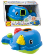 Cuckoo Alex Rub A Dub Sort 'N Spray Whale Bath Toy