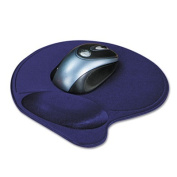Kensington Wrist Pillow Mouse Pad with Wrist Rest in Blue