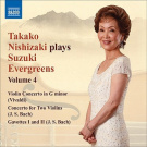 Takako Nishizaki Plays Suzuki Evergreens, Vol. 4