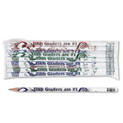 Moon Products 7865B Decorated Wood Pencil Fifth Graders Are No. 1 HB No. 2 WE Brl Dozen