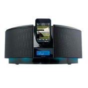 Memorex MI1111 CD iPOD Dock Home SYST BL