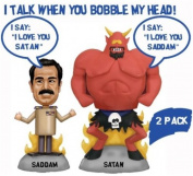 South Park Saddam Hussein and Satan Talking Bobble Heads