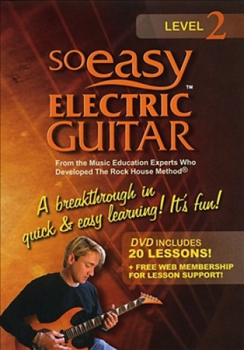 So Easy Electric Guitar [Region 1]: Level 2 - DVD - New - Free Shipping.