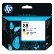 C9381A (HP 88) Printhead Cartridge, Black/Yellow