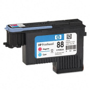 C9382A (HP 88) Printhead Cartridge, Cyan/Magenta