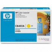 LaserJet Print Cartridge, 7500 Page Yield, Yellow. .