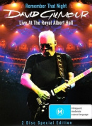 DAVID GILMOUR REMEMBER THAT NIGHT LIVE AT THE ROYAL ALBERT HALL [Region 4]