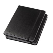 Journal Lined Journals 1-2 Black 2 Pack
