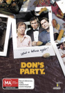 Don's Party (Single Disc)