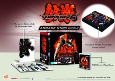 Tekken 6 Arcade Stick Bundle