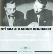 Int'grale Django Reinhardt, Vol. 4