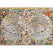 Ravensburger Historical Map 1500pc Jigsaw Puzzle
