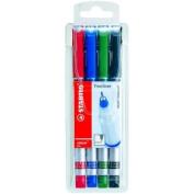 Stabilo 189/44 Sensor Fineliner Pen Set/4 - Asstd