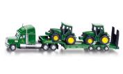 Siku Low Loader with John Deere Tractors
