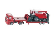 Low Loader With Combine Harvester - 1:87 Scale