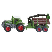 Tractor with Forestry Trailer