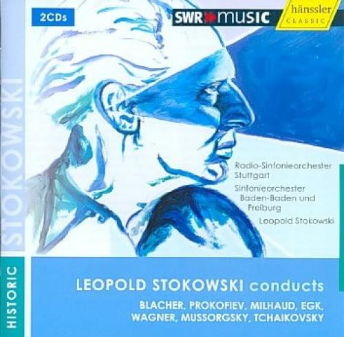 Leopold Stokowski Conducts Blacher, Prokofiev, Milhaud and Others by Stokowski C