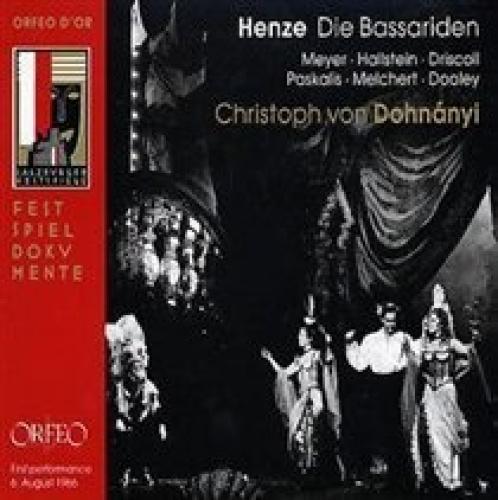 Hans Werner Henze: Die Bassariden.