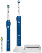 Braun Oral B Professional Care 3000 Electric Toothbrush Dual Handle Pack