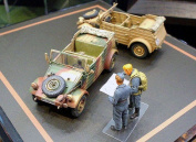 German Kubelwagen Type 82 - 1:48 Military - Tamiya