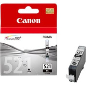 Canon CLI521BK Black Ink Cartridge