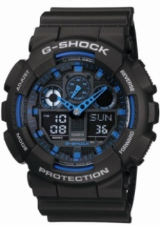 Casio G Shock  GA100-1A2