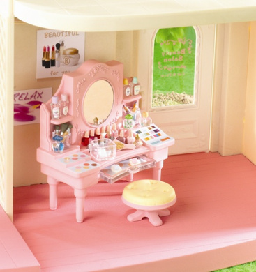 Beauty dressing table sylvanian families shop online for Beauty parlour dressing table images