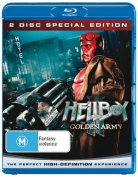 Hellboy II: The Golden Army [Region B] [Blu-ray] [Special Edition]
