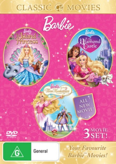Barbie: The Diamond Castle / The Island Princess / The Three Musketeers