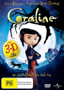 Coraline (2D and 3D) (Plays any TV with 4xPlastic Glasses)  [Region 4]