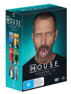 House M.D.: Seasons 1 - 6 (34 Disc Box Set)