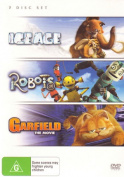 Ice Age / Garfield / Robots [Region 4]