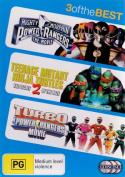 Mighty Morphin Power Rangers / Teenage Mutant Ninja Turtles 2 / Turbo : A Power Rangers Movie [Region 4]