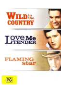 WILD IN THE COUNTRY / LOVE ME TENDER / FLAMING STAR [Region 4]